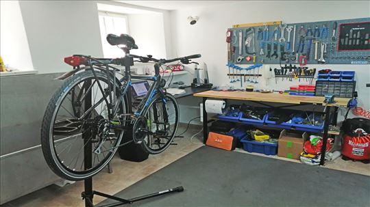 Servis i popravka svih vrsta bicikala!