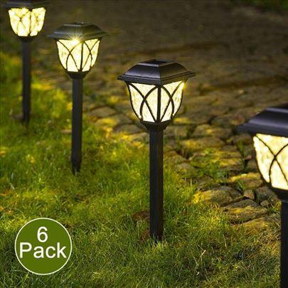 Solarne Lampe za Baštu 6 komada