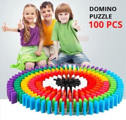 Drvene domine u boji