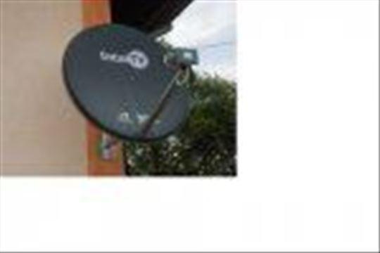 Satelitska antena sa risiverom