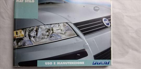 Uputstvo za upotrebu Fiat Stilo svi motori,370 str
