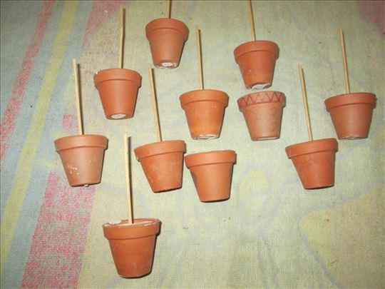 Male, keramičke saksijice 4,5 cm