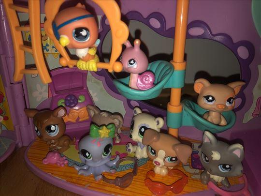 Littlest pet shop - igračke životinjica sa kućom!