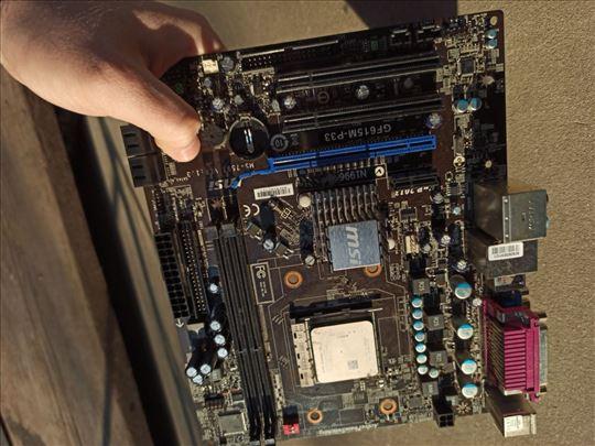 Maticna ploca GF615M-P33 i procesor AMD Athlon II