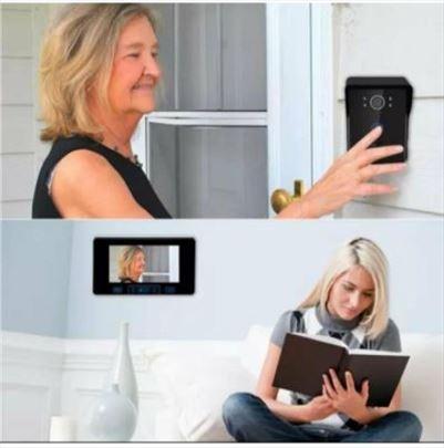 Digitalni bežični interfon-7inch 2,4ghz-NOVO