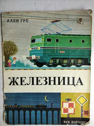 Knjiga: Zeleznica, 1969. 32 str. srp. ostecena