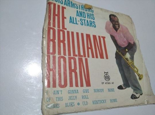 Lous Armstrong Brilliant horn 1966