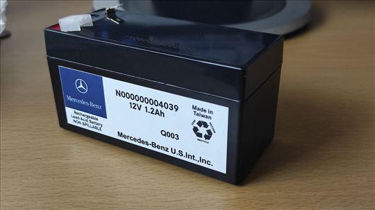 Mali pomocni akumulator za Mercedes vozila 1.2AH 1