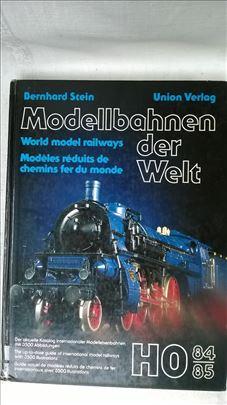 Knjiga: Modellbahnen der Welt 1984-85. (Modeli voz