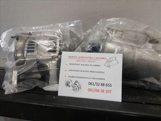 Uslužni remont alternatora i anlasera