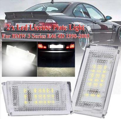 Bmw E46 led paneli za tablice svetlo