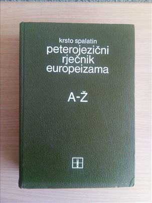 Krsto Spalatin - Peterojezični rječnik europeizama