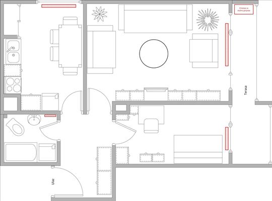 Karaburma, namešten stan, bez ulaganja, 51 m2