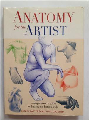 Anatomija za umetnike, Daniel Carter ...