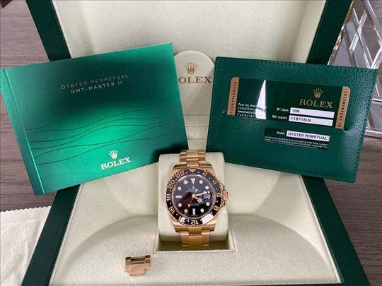2014 Rolex GMT Master II 116718LN u punom zlatu
