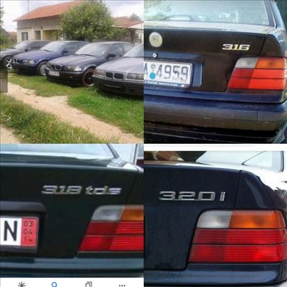 BMW 320 Bmw e36 316 318 320 325tds Delovi
