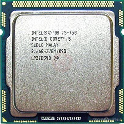 Intel i5 750 quad core 2.66GHz