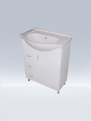Lavabo i ormaric sa tri fioke 65cm, kupatilski