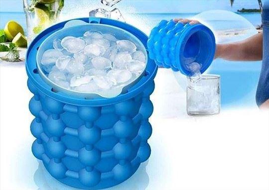 Silikonska posuda za pravljenje kocki leda - Ice G
