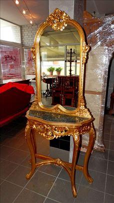 Barok ogledalo sa konzolom, vrhunski komad