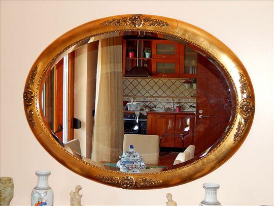 Fantasticno Neobarok elipsasto ogledalo, 110 x 80