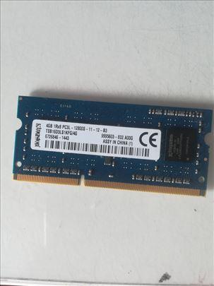 Kingston ram memorija SODIMM DDR3 4GB, dva komada