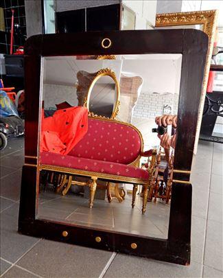 Ogledalo Secesija, fazetirano, prelepo, 82 x 69 cm