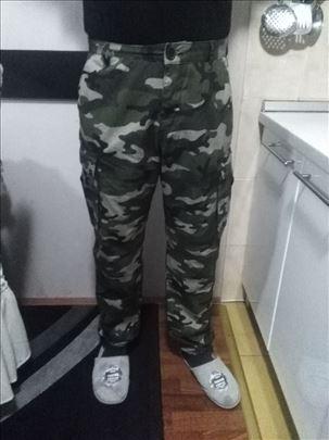 Pantalone maskirne brojevi XXL,XL,L,M,S
