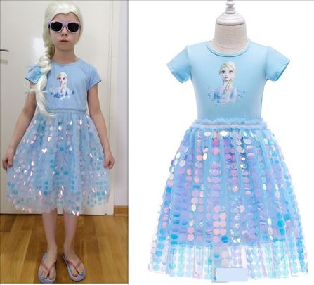 Elza Elsa Frozen 2 kostim kostimi haljina model O