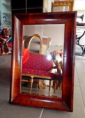 Bidermajer ogledalo sa slifovanim staklom