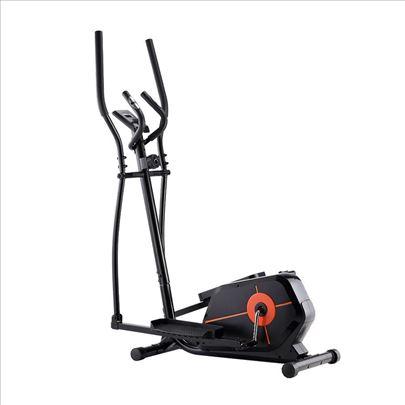 Eliptični trenažer Black nov nosivost 120kg akcija
