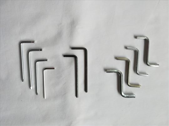 Imbus ključevi 10 komada