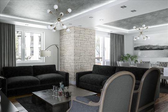 Luxuzan petosoban stan 119 m2,Bulevar-Centar,garaž
