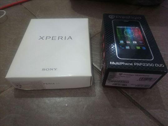 Kutija za Sony xperia XA i Prestigio 3350