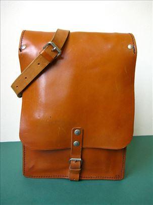 Oficirska torba 3 - prava prirodna koža