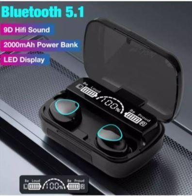 Bluetooth slusalice M10 - lcd dislpej