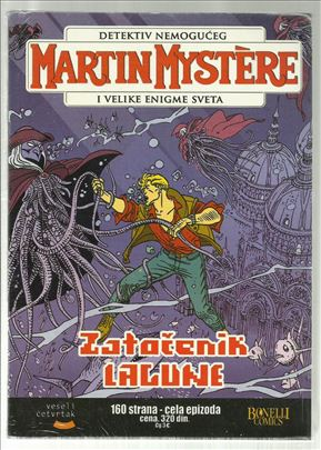 Martin Mystere VČ 31 Zatočenik lagune (celofan)