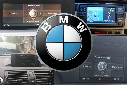 Mape/karte za BMW fabricku navigaciju  Disk-CD/DVD