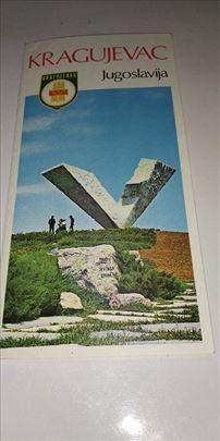 Brosura Kragujevac Jugoslavija