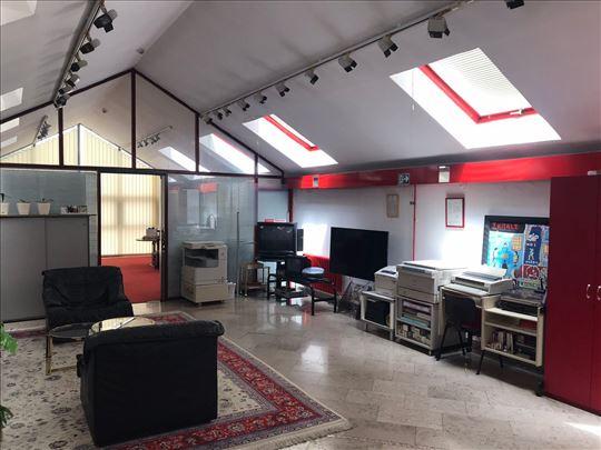 Senjak, opremljen poslovni prostor, 260m2