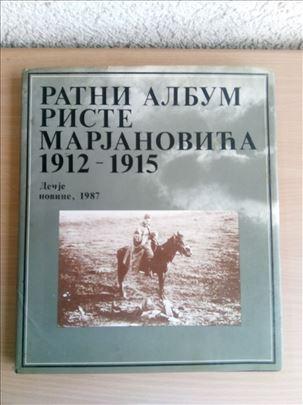 Ratni album Riste Marjanovića 1912-1915
