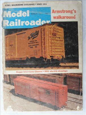 Casopisi: Model railroader mart 1977(90 str. ) i a