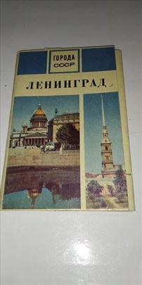 Brosura sa razglednicama Lenjigrada iz 1970 godine