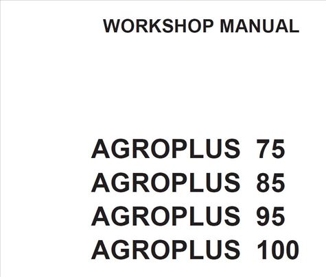 Deutz Fahr Agroplus 75 85 95 105
