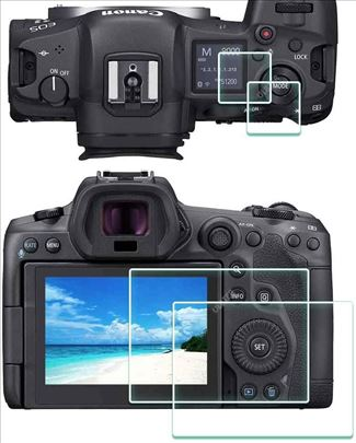 Canon EOS R5 zaštitno staklo za oba displeja