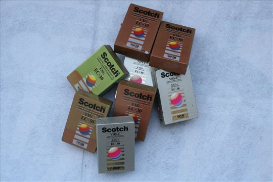 Kasete Scotch EXG EC-30 VHS-C