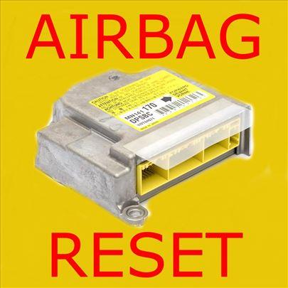 Resetovanje airbag modula (centrale)