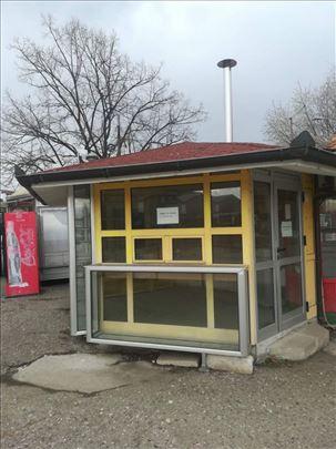 Kiosk na autobuskoj stanici