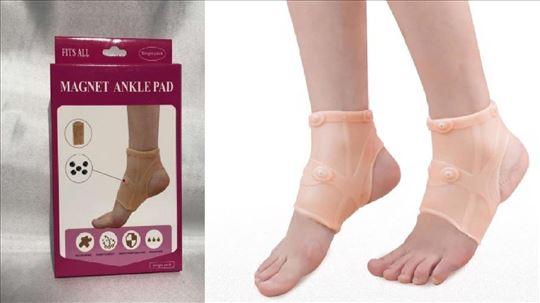 Magnetni silikonski steznik za zglob noge
