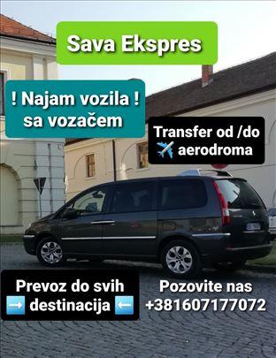 Najam vozila sa vozačem